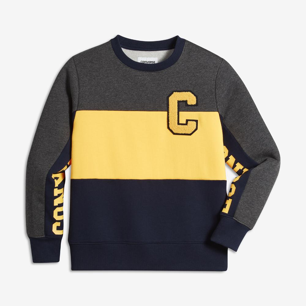75e19e8e825a Converse Colorblock Crew Big Kids  (Boys ) Sweatshirt Size ...