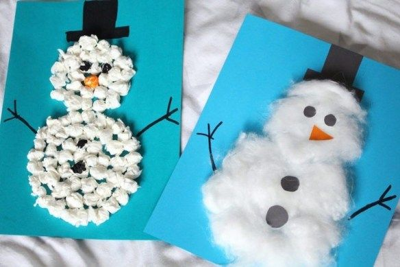 Photo of Crafts with children and toddlers in winter