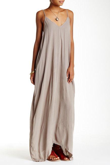 3feb6a51ac2 Love Stitch Gauze Maxi Dress