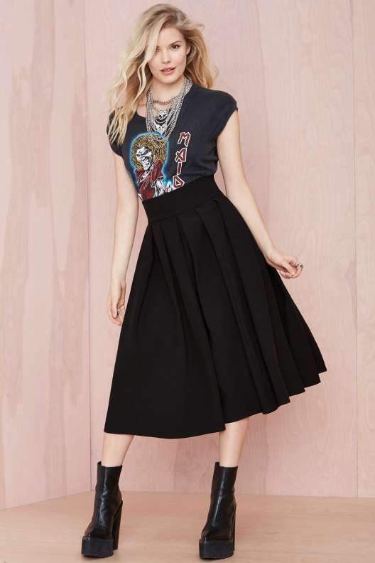 You Compleat Me Skirt - Black - Skirts