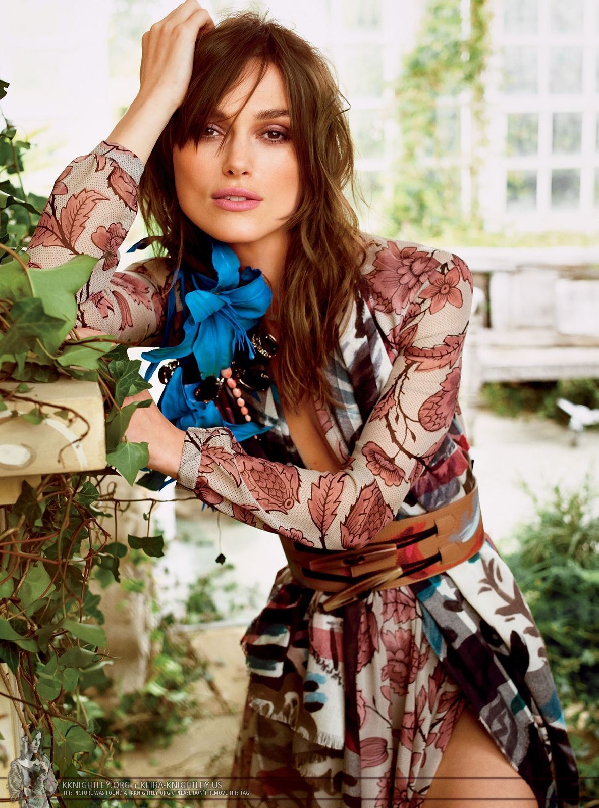 Keira Knightley for Glamour USA