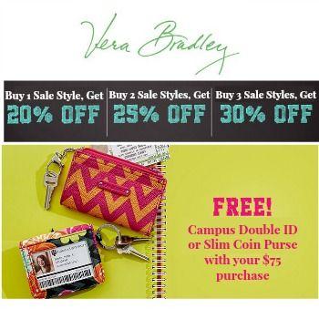 Vera Bradley Promo Codes Http Www Coupondad Net Vera Bradley Promo Code Promo Codes Grocery Coupons