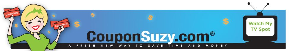 Coupon Suzy Dot Com As Seen On Television The Best Source For Online Printable Coupons Saving Money Coupons Best Coupon Sites