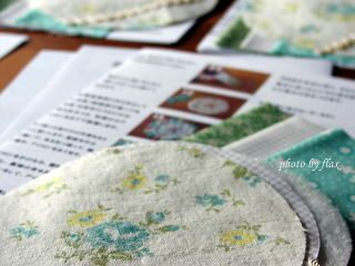 From Quilt Cottage yo-yo quilt doily kit