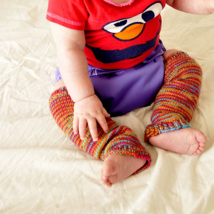 Knitting Pattern For Baby Leggings Along With Link To A Video For