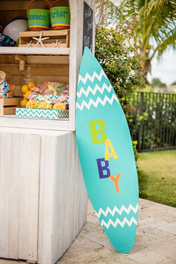 10 Cool Beach Themed Baby Shower Decoration Ideas Baby Girl