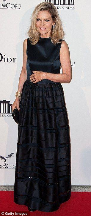 Michelle Pfeiffer in Dior at La Cite Du Cinema in France