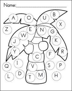Chicka Chicka Boom Boom Recording Sheet I Could Use This For Letter Recognition Ask The Students Color The Atividades De Linguagem Linguagem Oral E Escrita
