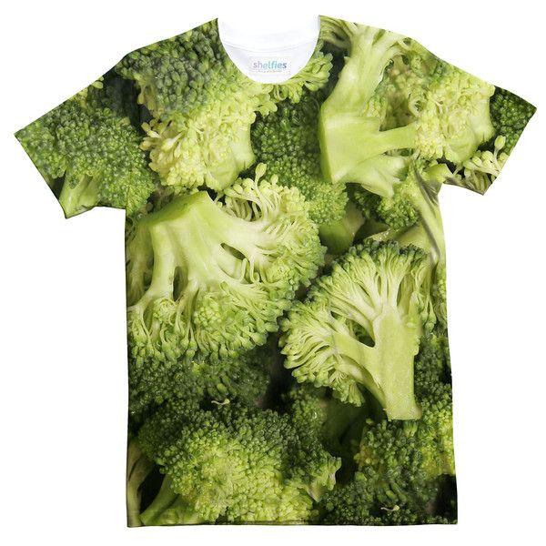 f420e96ad Broccoli Invasion T-Shirt   fashion   Shirts, T shirt, Green tee