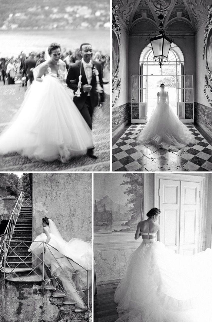 Ball Gown Wedding Dresses : Chrissy Teigen Wedding Gowns Chrissy ...