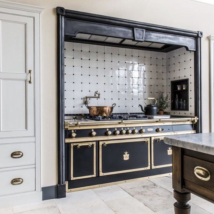 """Officine Gullo on Instagram: """"Professional custom kitchens for homes, made by hand, one at the"""
