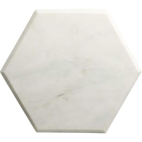 Best Hex Marble Boards White Cb2 Marble Board White 400 x 300