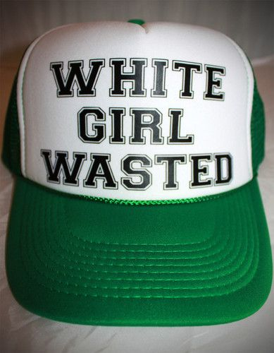 New White Girl Wasted Party Trucker Hat Cap Trendy Hipster Funny Drinking  Joke  d158e40a23d