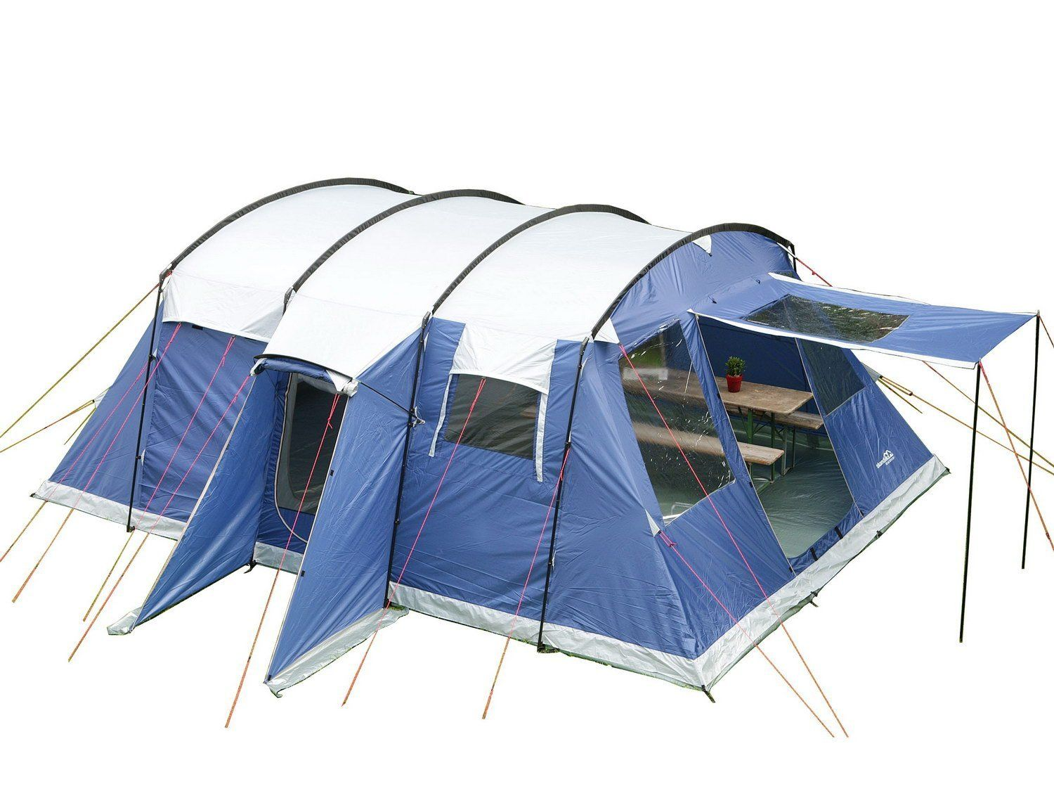 off on Skandika Milano Tent - 6 Person Blue  sc 1 st  Pinterest : six berth tents - memphite.com