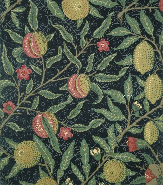 Fruit by William Morris. Brooklyn Museum Decorative Arts