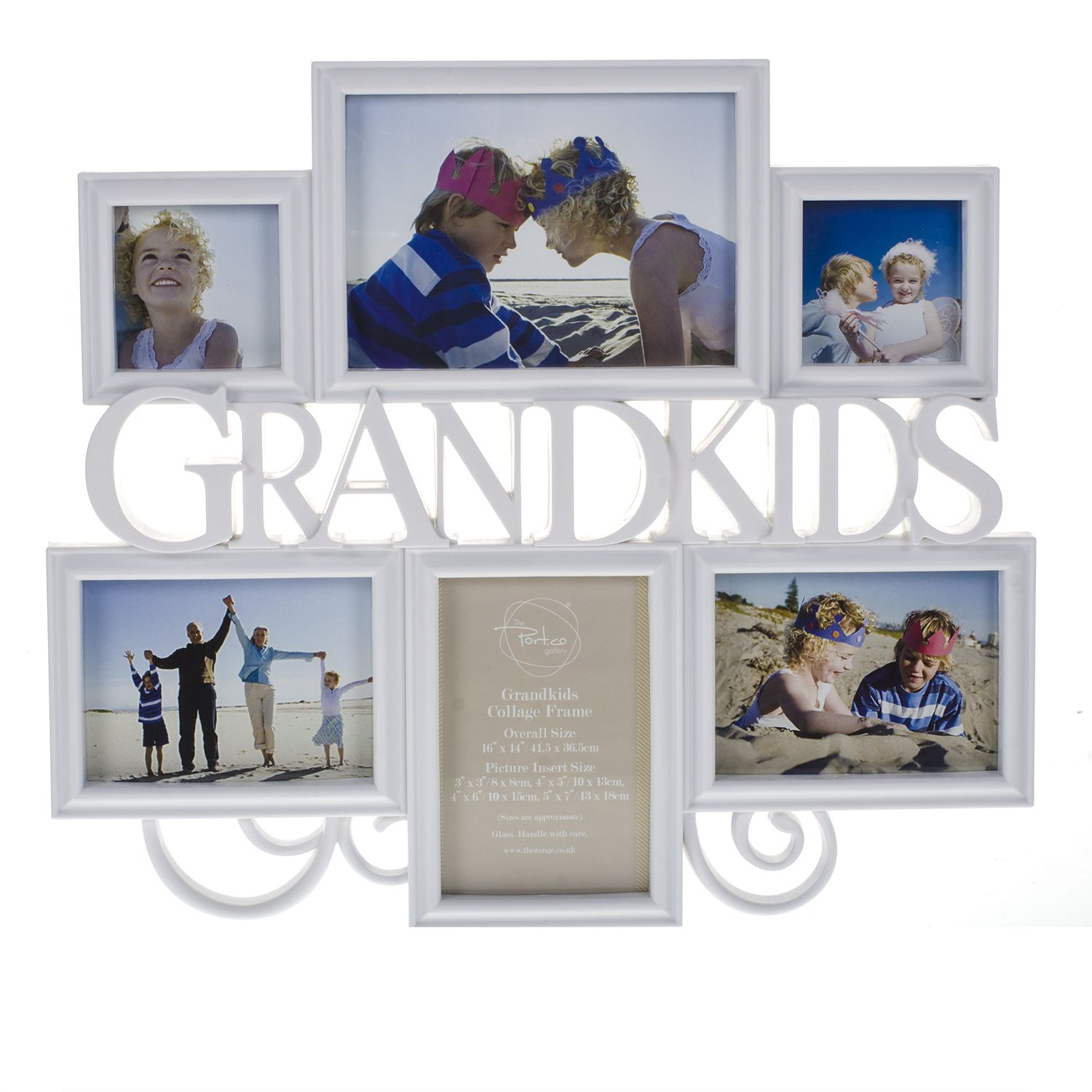 Grandkids Collage Frame | The Range | mums birthday | Pinterest ...
