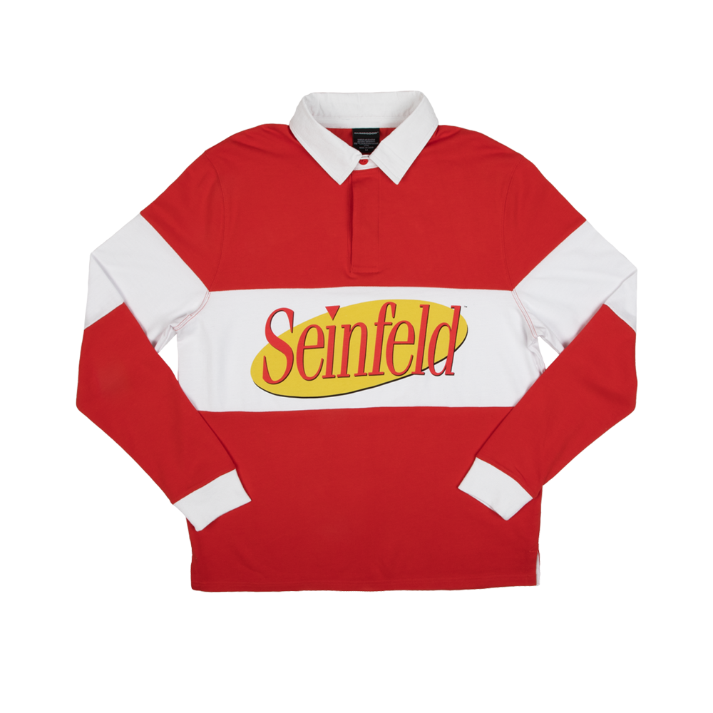 Seinfeld Logo Rugby Seinfeld Seinfeld Funny Best Tv Shows