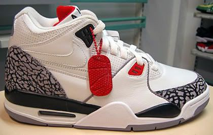 meet d1e9b 4c7fc White Cement Nike Air Flight 89 Air Jordan III