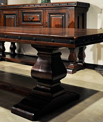 Mancini Dining Room Furniture Is Highly Popular Due To Its Rugged  Personality, Its Traditional Hacienda Style, Its Solid Wood Construction  And Its U2026