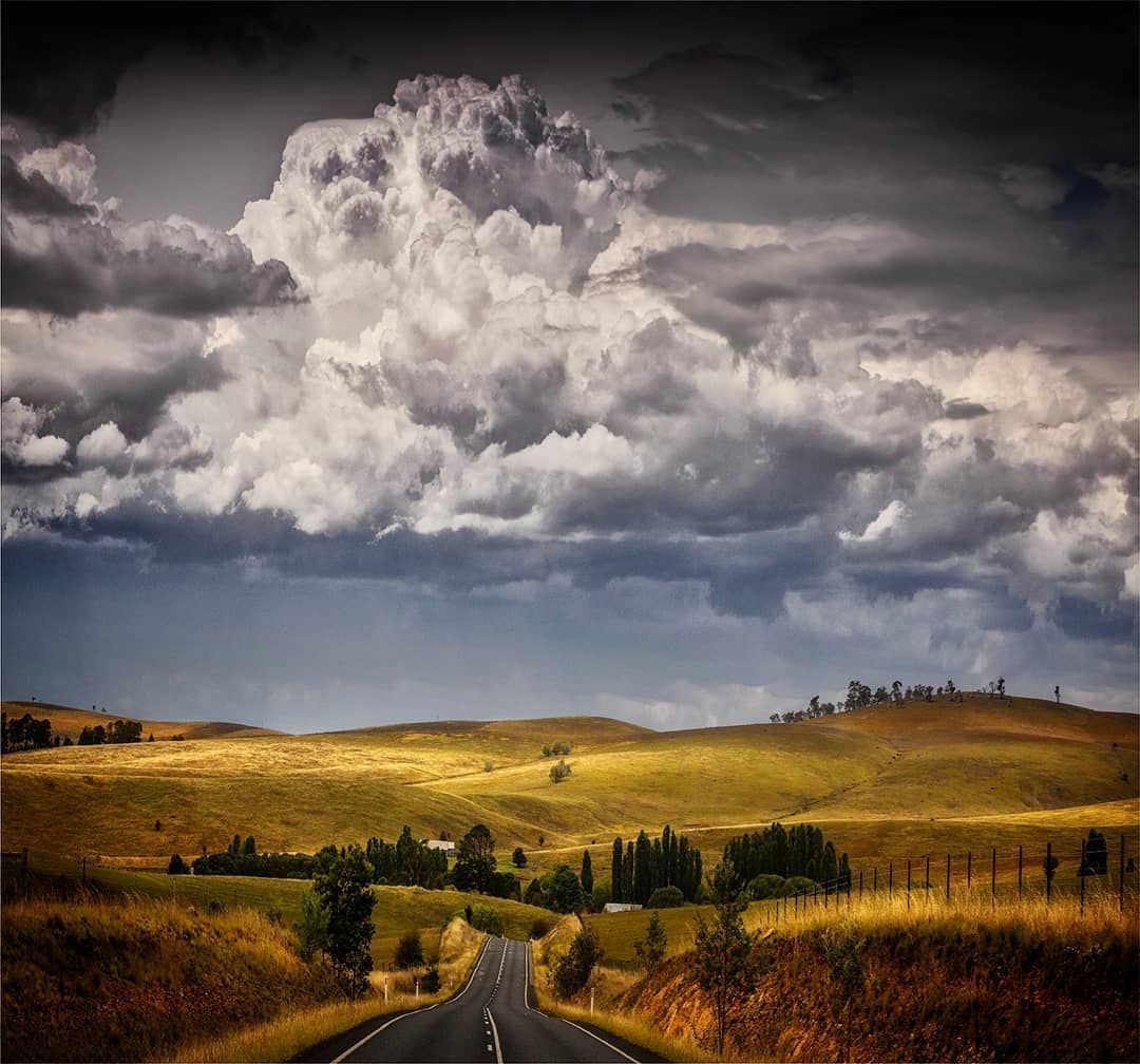 Clouds Billow To Form An Afternoon Storm Tumbarumba Nsw Australia By Landscape Photography Beautiful Landscape Photography Landscape Photography Tips