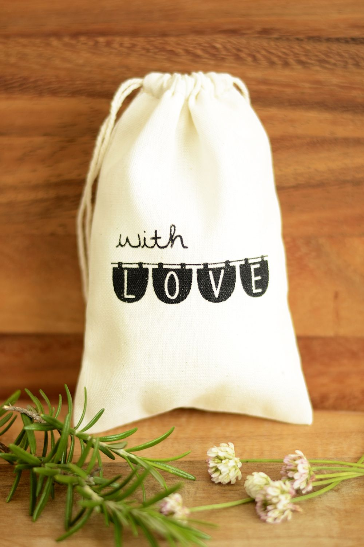 Wedding favour bags, wedding favor bags, muslin favor bags, small ...