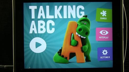 Talking #ABC #iPad App Demo - Video Dailymotion | ABCs Videos