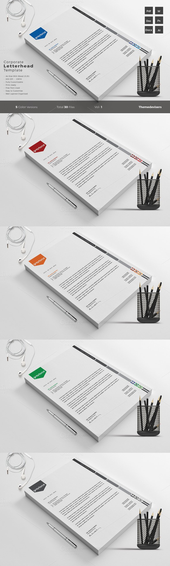 word templates stationery