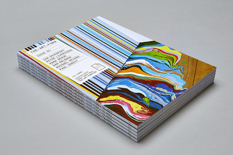Issue 1 of The-Art-Form - a limited edition publication about art and artists. Featuring Ian Davenport, Peter Liversidge, Rana Begum, Dan Baldwin, Michael Reisch and Paul Insect.   More info here: http://www.the-art-form.com