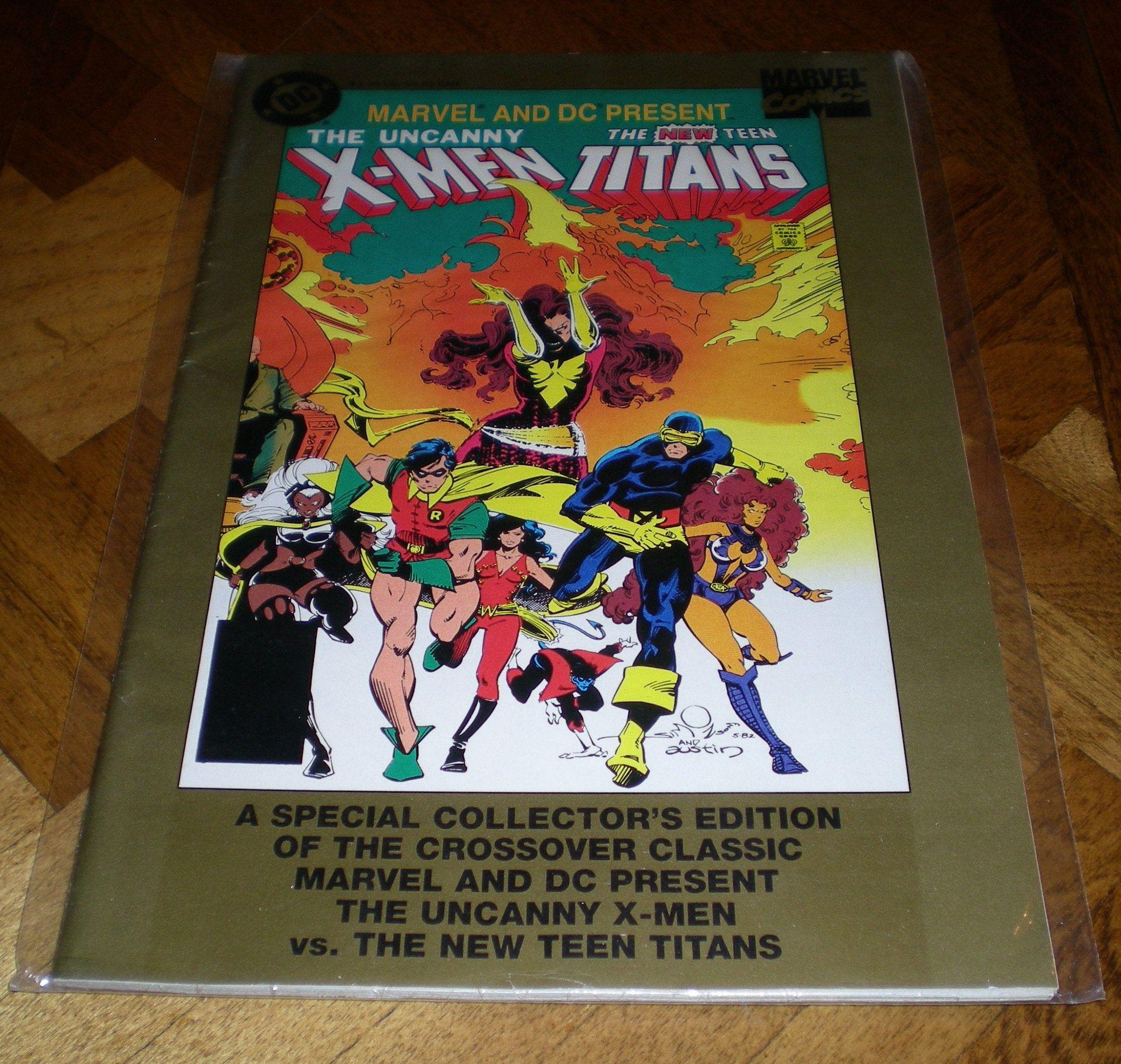 1995 Special Gatefold Cover Fabian Nicieza /& Andy Kubert X-Men No.45