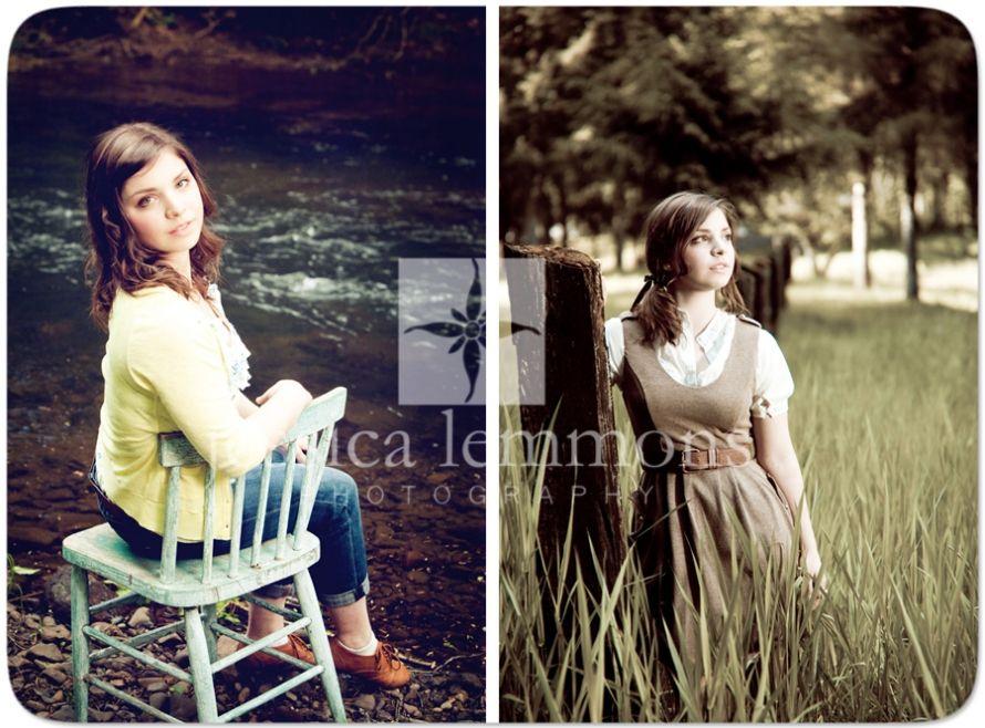 Outdoor senior photography