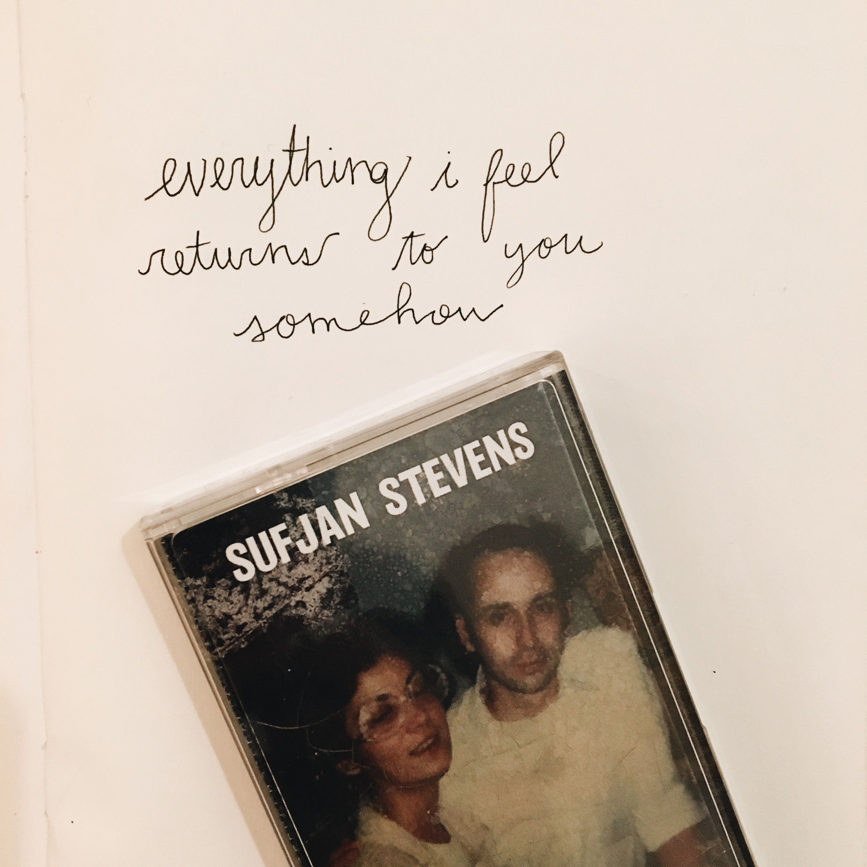 Sufjan Stevens Lyrics #sufjanstevens #lyrics #handwritten ...