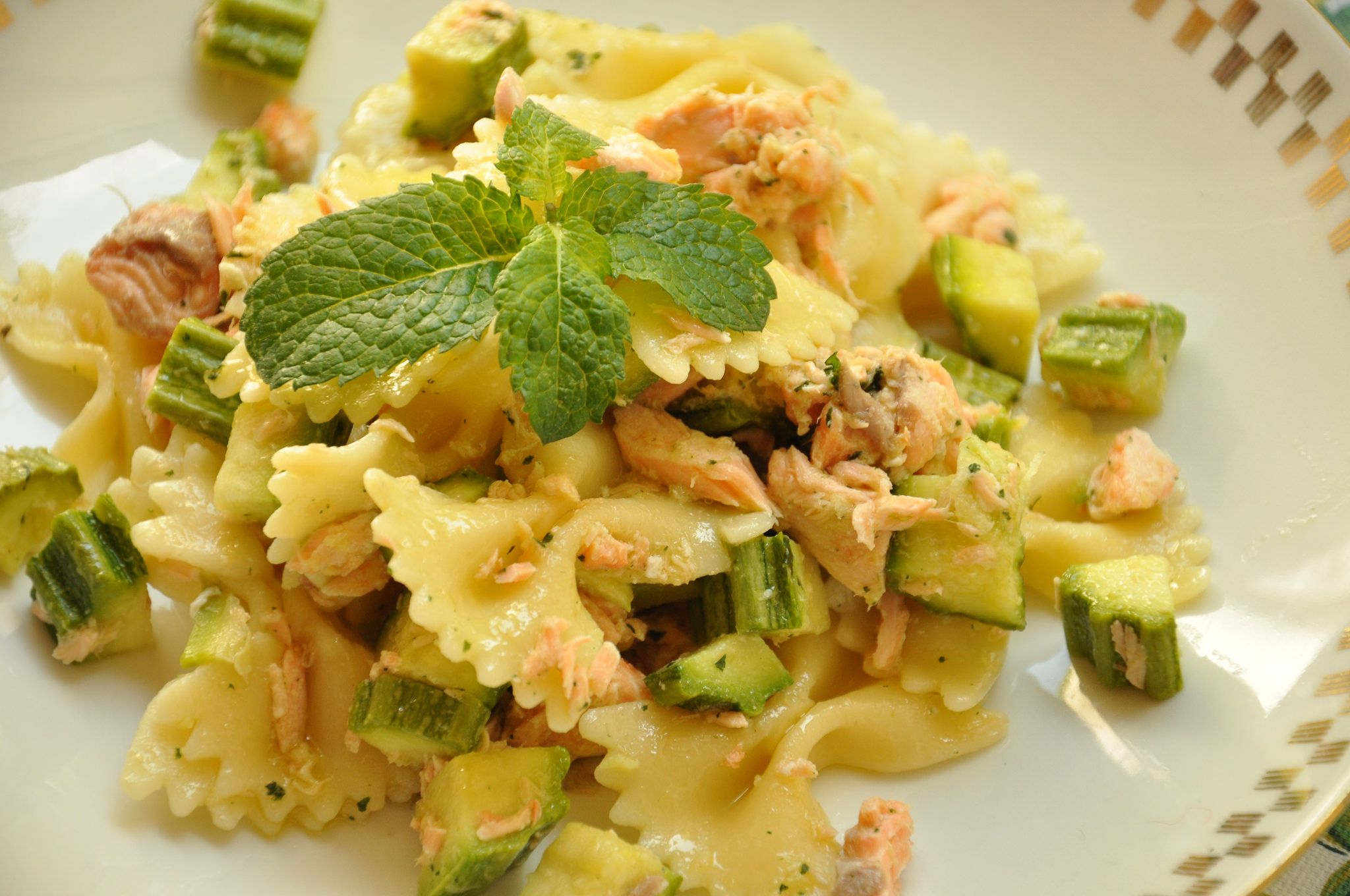 Pasta con avocado ricette bimby