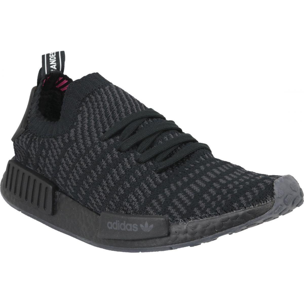 Adidas Nmd R1 Stlt Pk M Cq2391 Shoes Black Black Adidas Shoes Sports Shoes Adidas Adidas