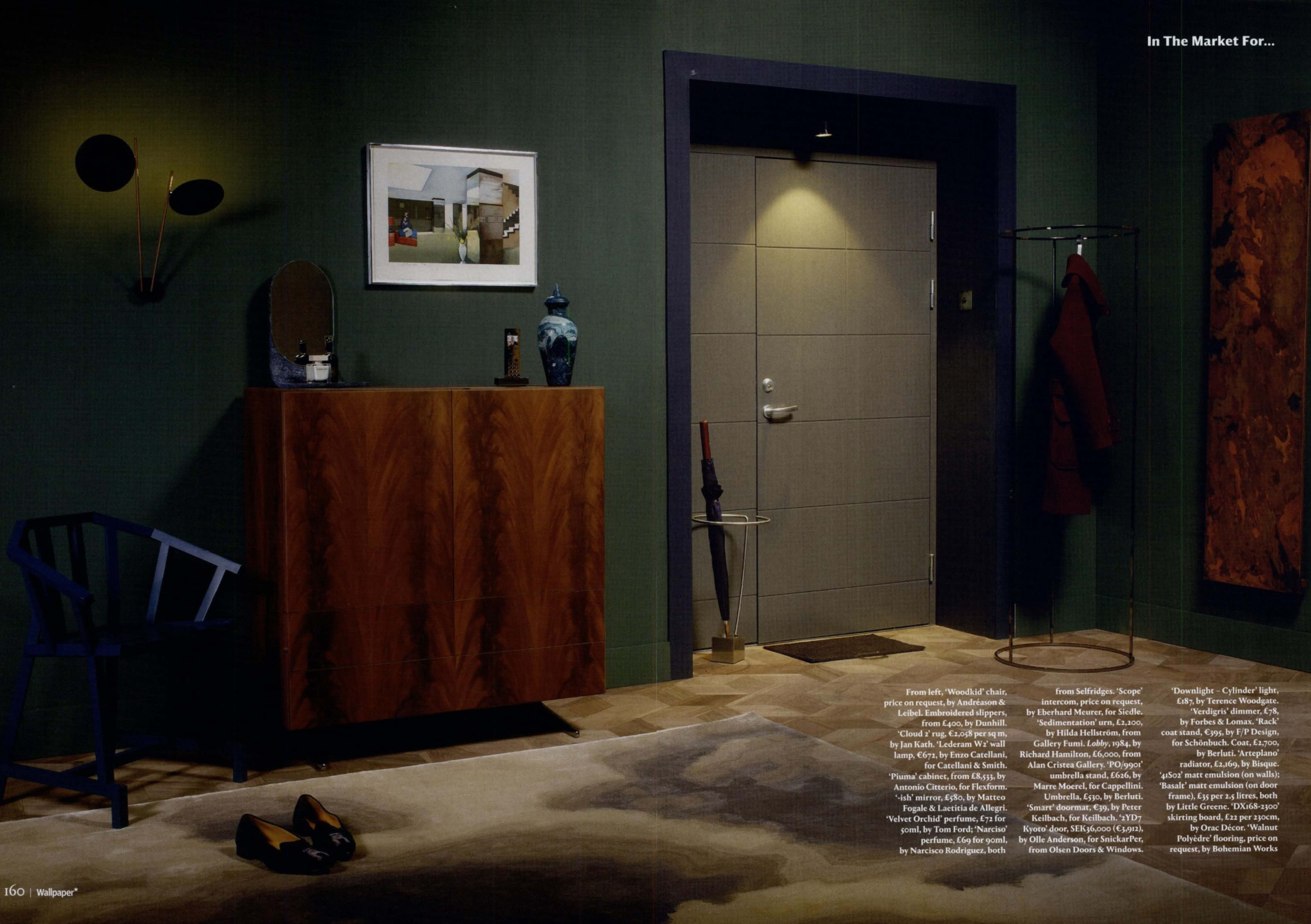 Flexform Piuma Cupboard Designed By Antonio Citterio On Wallpaper Uk December Issue Products Bit Ly 1ghhl5e