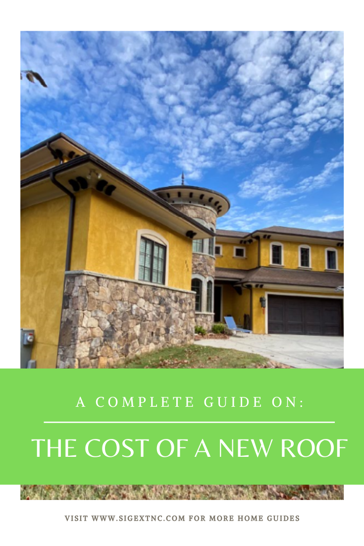 Cost Of A New Roof A Complete Guide Roof Cost Residential Roofing Roof