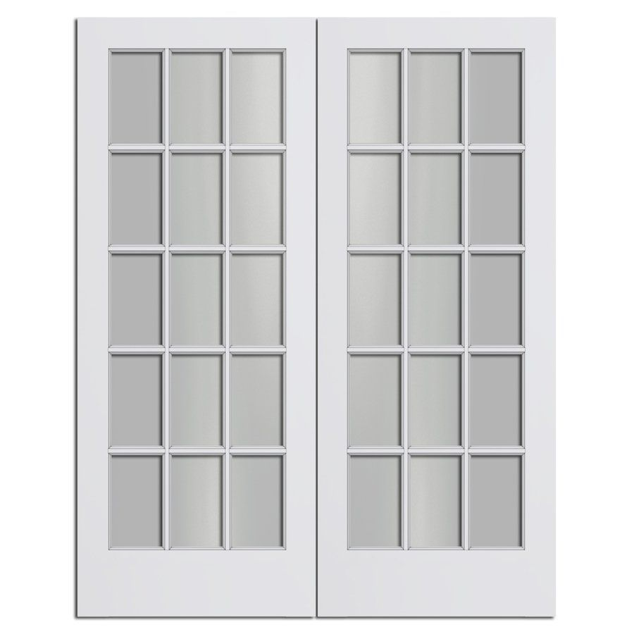 Reliabilt Full Lite Universal Wood Interior French Door Lowes