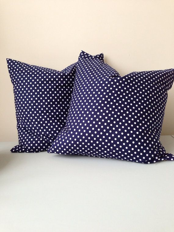"One 20"" x 20"" Polka Pillow Cover  on Etsy, £18.00"