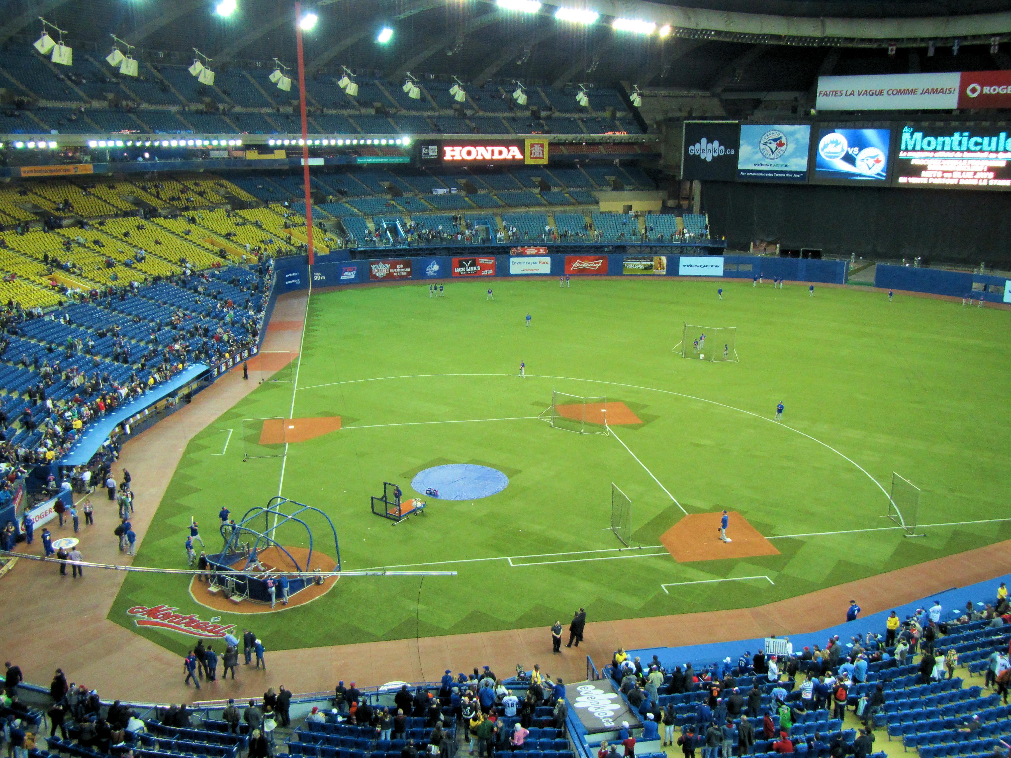 Olympic Stadium Montreal Expos Montreal Quebec 2014