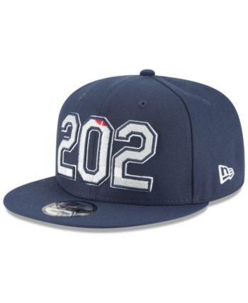 pretty nice 33566 bce0f New Era Washington Wizards Area Code 9FIFTY Snapback Cap - Blue Adjustable
