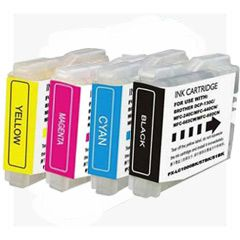 PREMIUM COMPATIBLE Brother LC-51 4-Color Ink Cartridge. The Generic Brother LC-51 contains Black, Cyan, Yellow, Magenta colors.