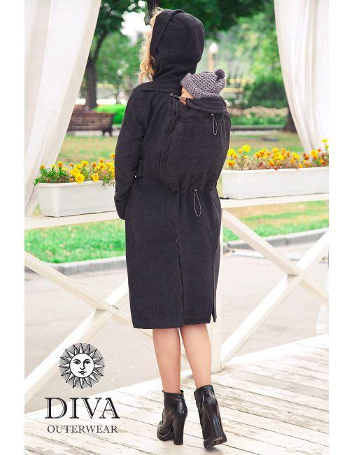e420b73c63e0 amazing price 8eab8 53f9a diva milano babywearing winter coat 3 in 1 ...