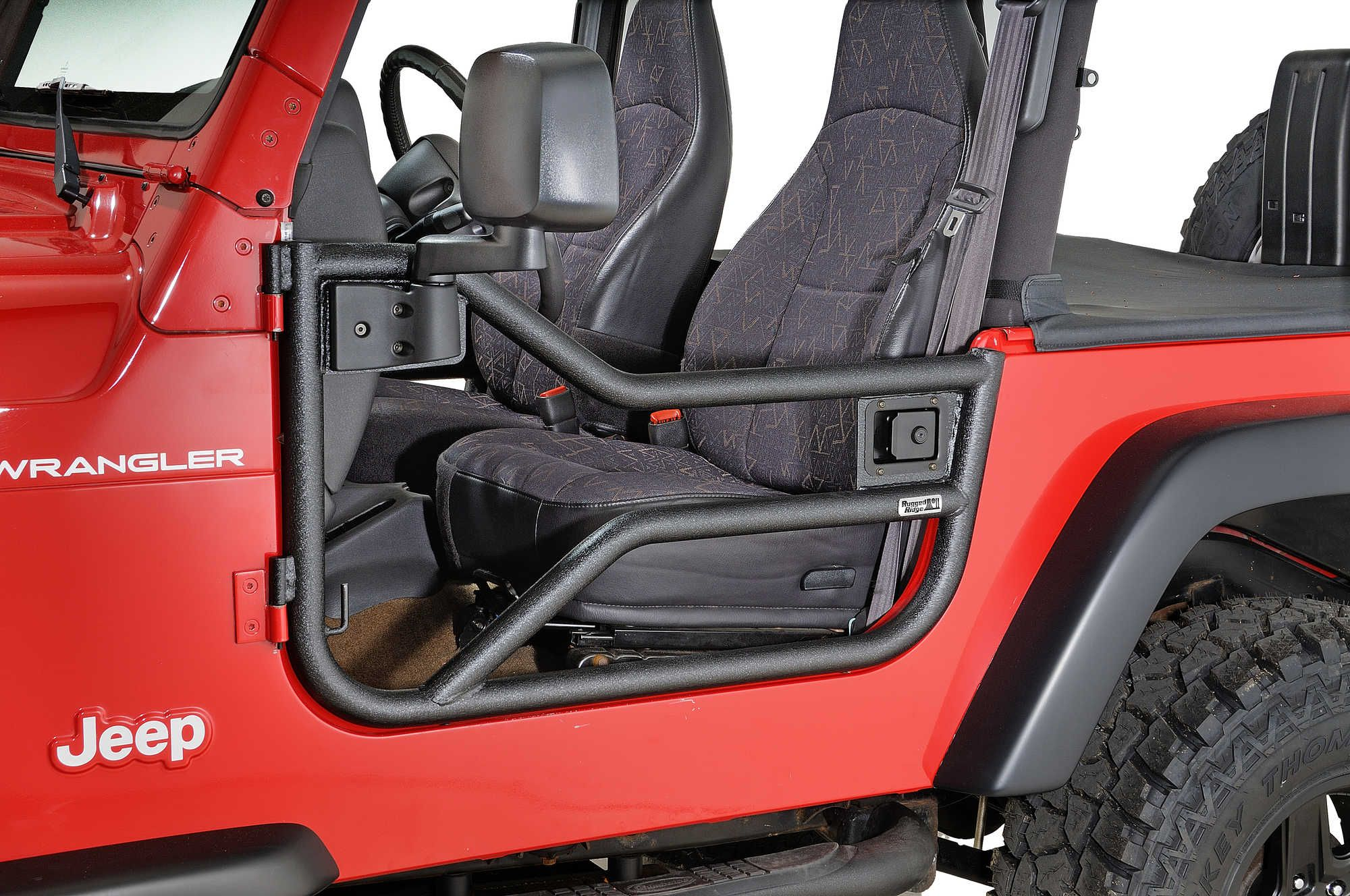 Rugged Ridge 11509 20 Tube Door Set For 97 06 Jeep Wrangler Tj Unlimited Jeep Jeep Wrangler Tj Jeep Doors
