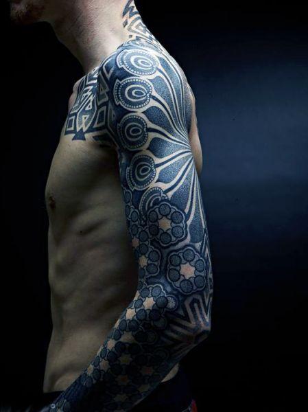 Tatuaże Męskie Rękaw Męskie Tattoo Tatuaże Męskie