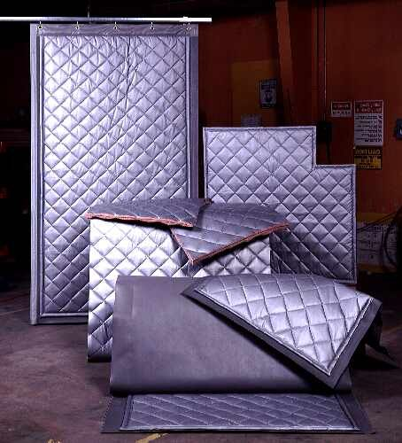 Quilted Absorption Panels Curtains Are An Attractive Fire Rated Absorption Panel Curtain That Can Be Easily Attached To A Acoustic Baffles Sound Proofing Wall