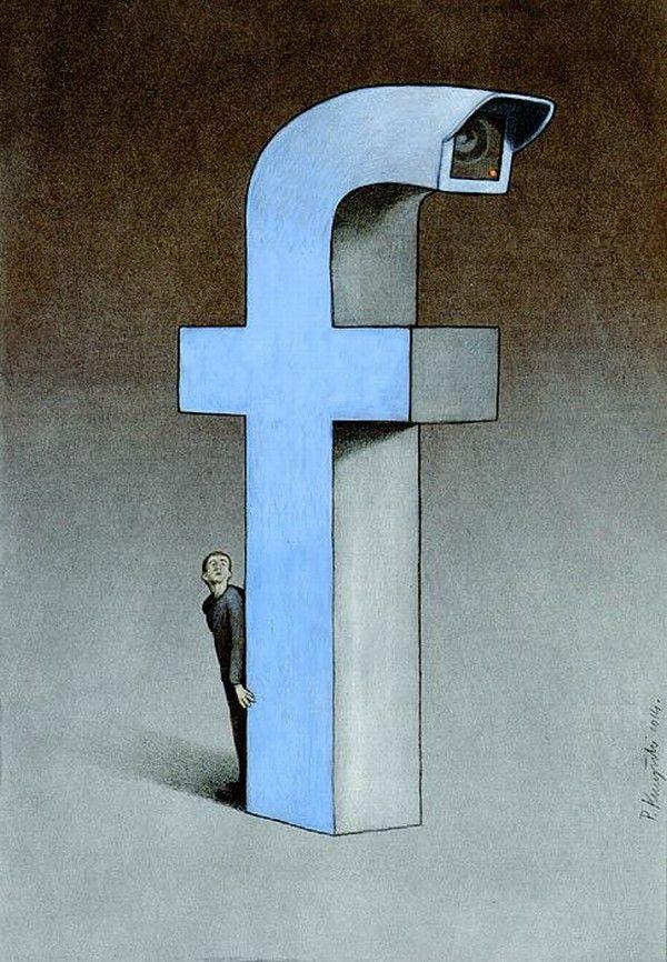 Pawel Kuczynski, retorciendo la realidad  #ilustración #facebook