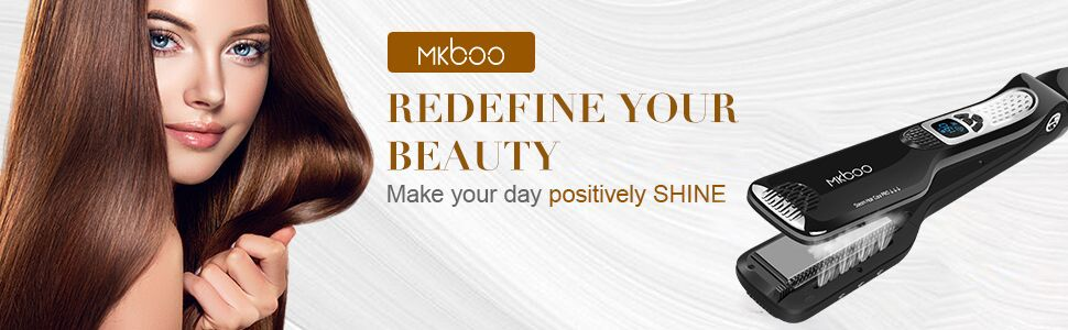 Hair straightener-Redefine your beauty,make your day positively shine