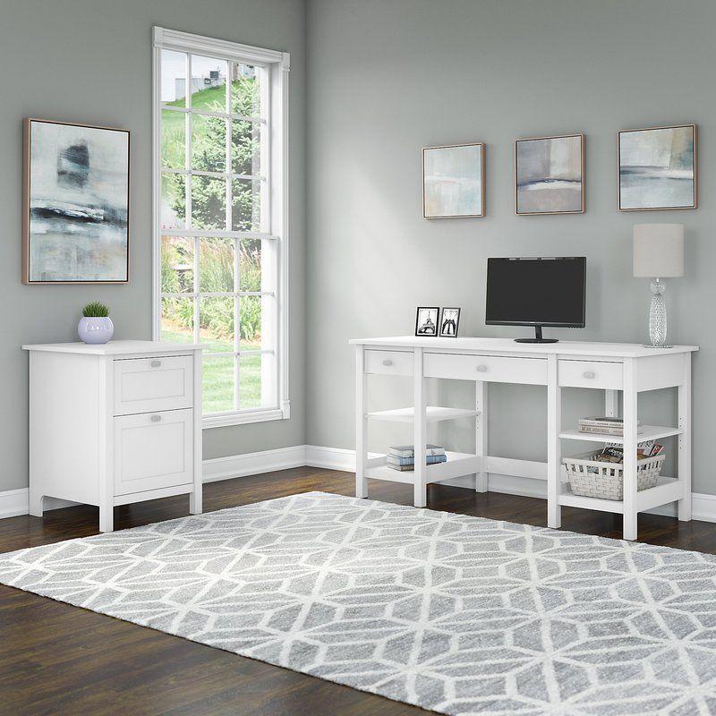 Perreira Desk Desk Storage Storage Shelves Desk Shelves