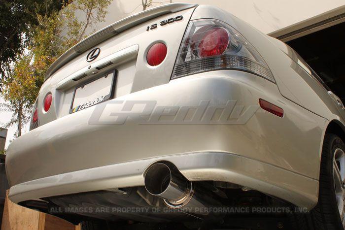 VIDEO: 2001 2005 Lexus IS300 (SXE10) Greddy Revolution RS Exhaust #10118100