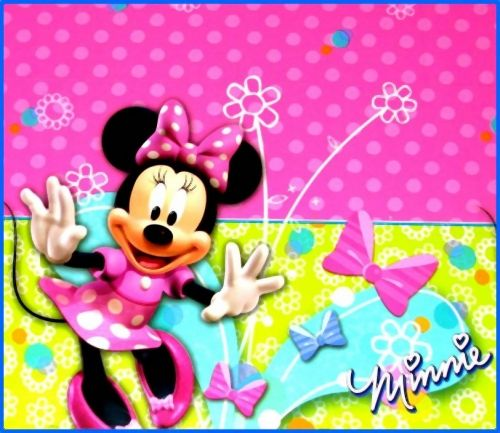Minnie Mouse Table Cover, Disney, Birthday Party Supplies