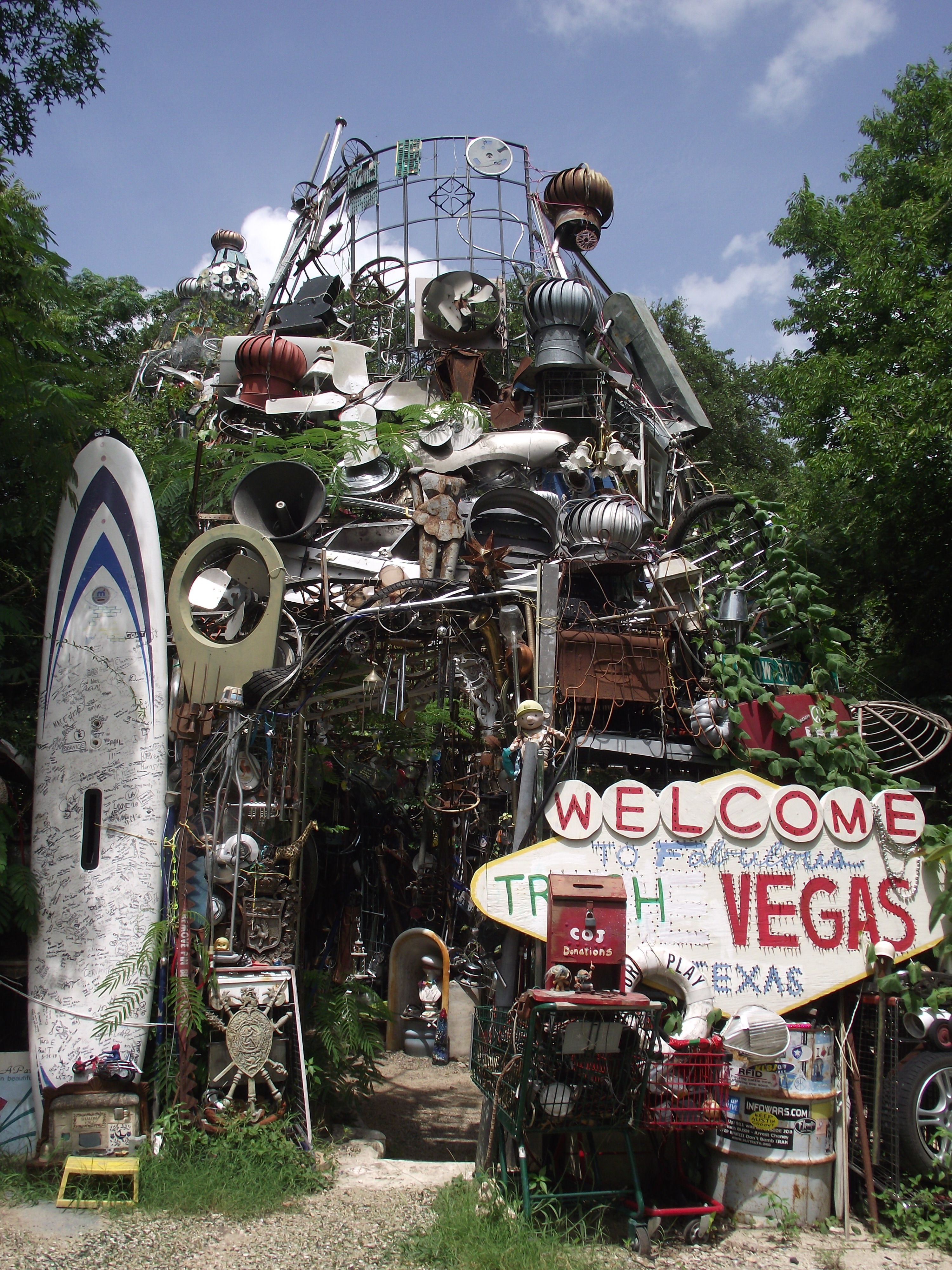 Cathedral Of Junk Austin Usa Cool Places To Visit Texas